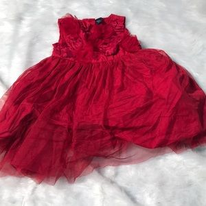 Toddler Red Holiday Dress